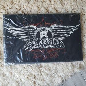 Aerosmith Logo Wooden Plaque Sign Wall Art
